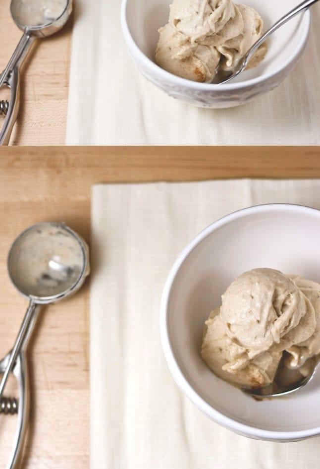 Vanilla-Cinnamon NICE Cream!   asimplepalate.com