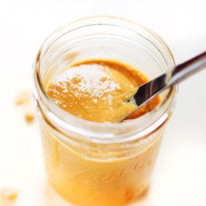 5 Minute Natural Peanut Butter | Asimplepalate.com