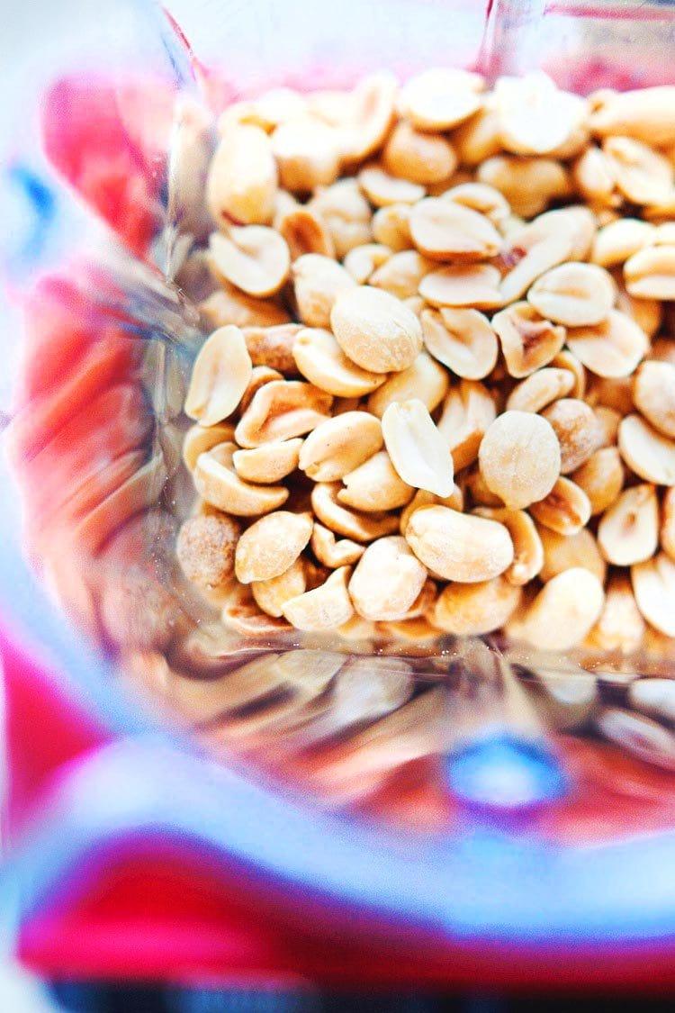 Peanuts in Blender
