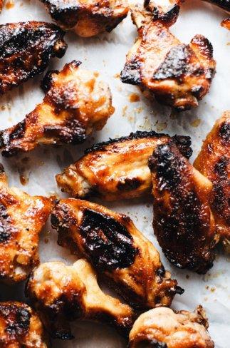 Easy Sriracha Honey Chicken Wings