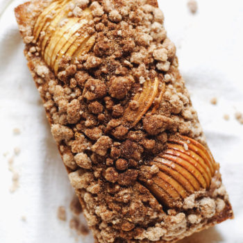 Apple Cinnamon Crumble Bread