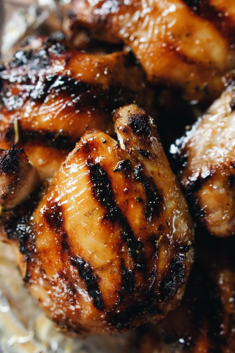 Honey Mustard Grilled Chicken Thighs A Simple Palate