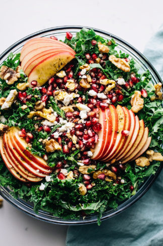 Apple Pomegranate Harvest Salad