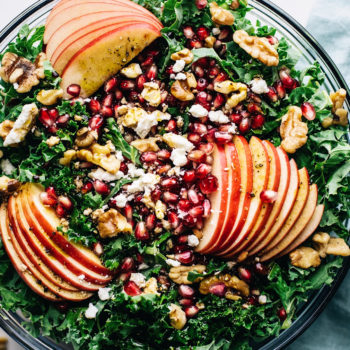 Apple Pomegranate Harvest Salad