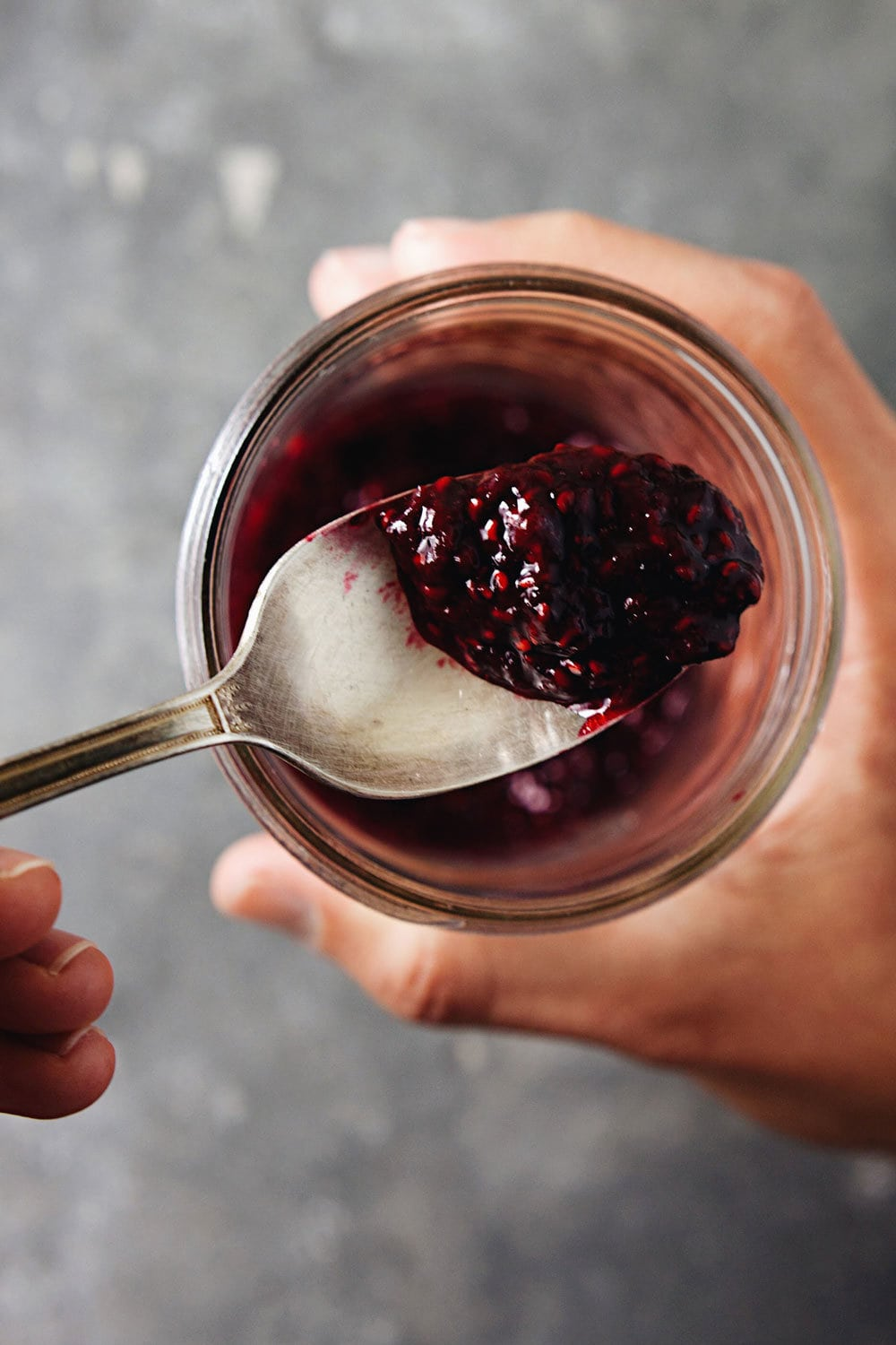 Raspberry Compote Yogurt Bowl - Satisfying, delicious, and wholesome. <3   asimplepalate.com