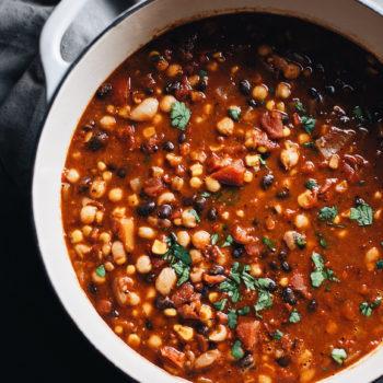 Healthy Vegetarian Bean Chili