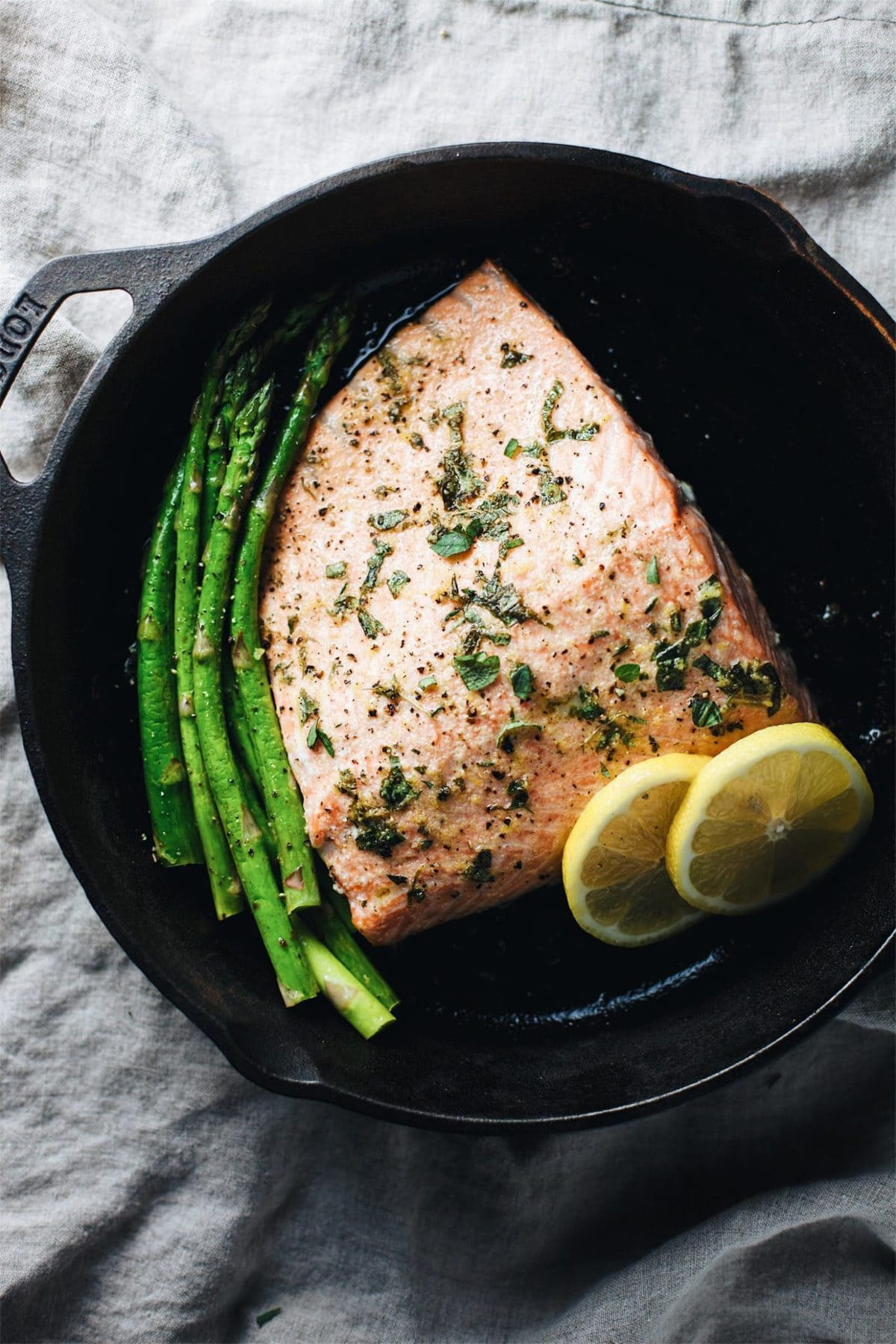 Lemon Amp Herb Baked Salmon Recipe A Simple Palate