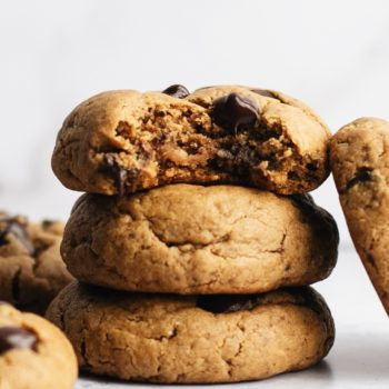 Chewy Flourless Chocolate Chip Cookies