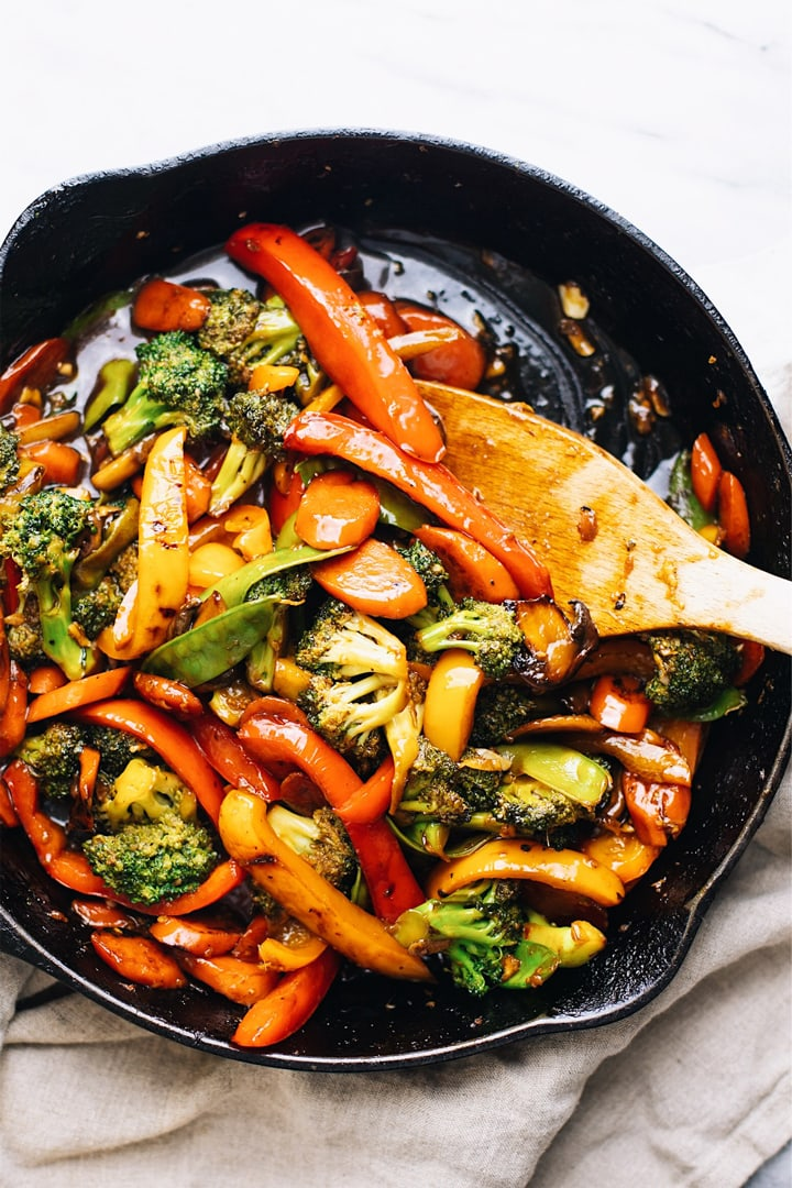 30 Minute Stir Fry Vegetables A Simple Palate