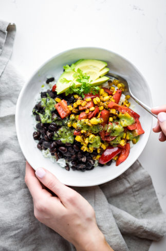 15-Minute Vegan Burrito Bowl