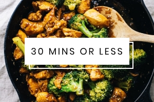 View quick meal recipes