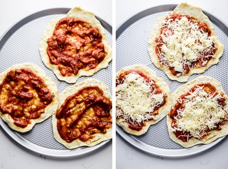 10 Minute Tortilla Pizza A Simple Palate