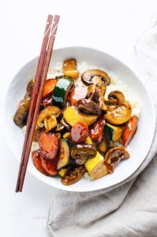 Easy Zucchini Stir Fry