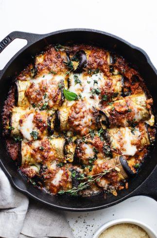 Baked Eggplant Rollatini