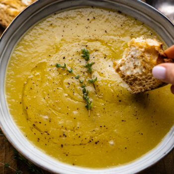 30-Minute Leek and Potato Soup