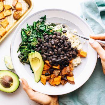 Nourishing Black Bean & Sweet Potato Bowl