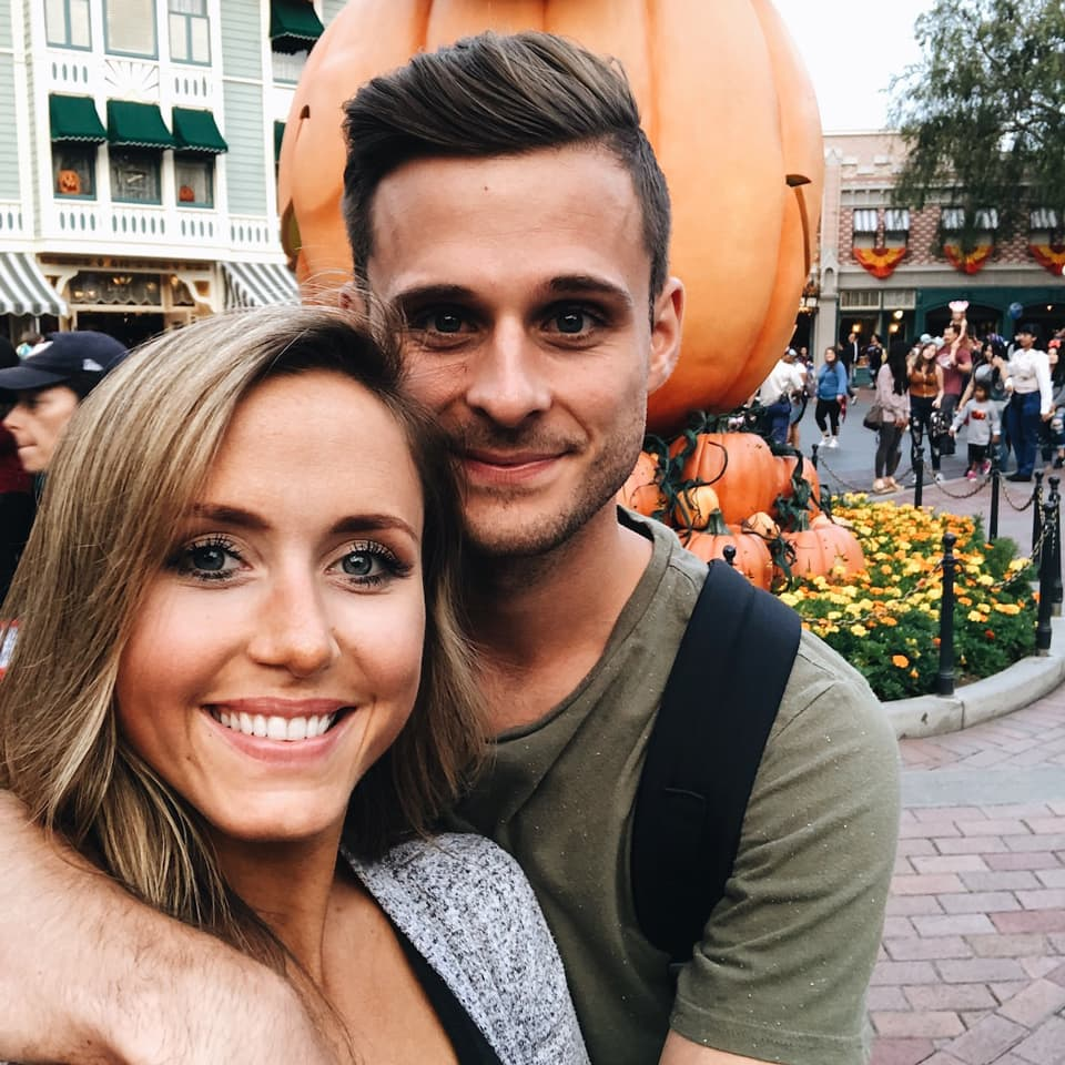 Bethany and Drew Kramer at Disneyland, CA