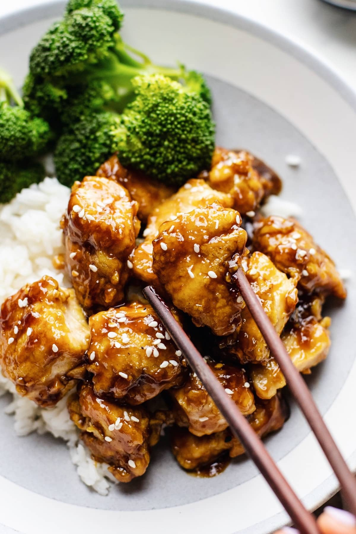 30 Minute Honey Sesame Chicken A Simple Palate