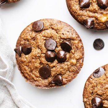 Oatmeal Vegan Banana Muffins