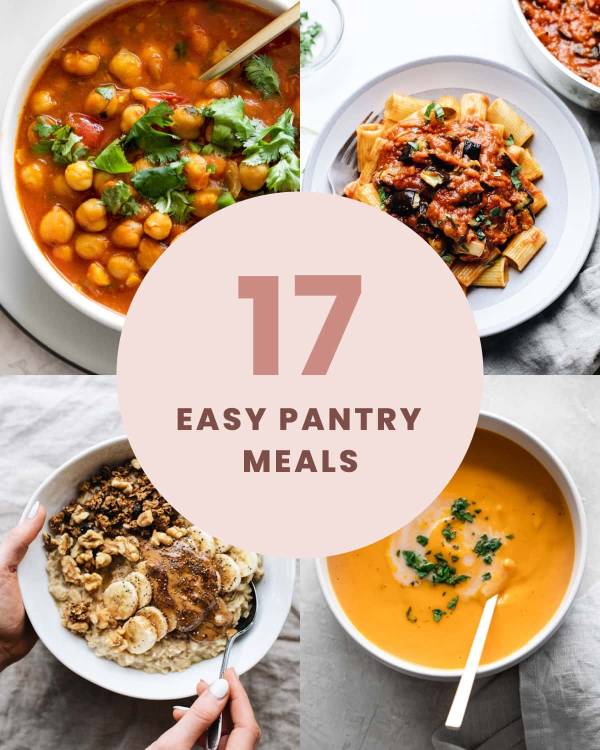 17 easy pantry meals