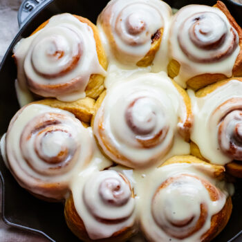 Crowd-Pleasing Dairy Free Cinnamon Rolls