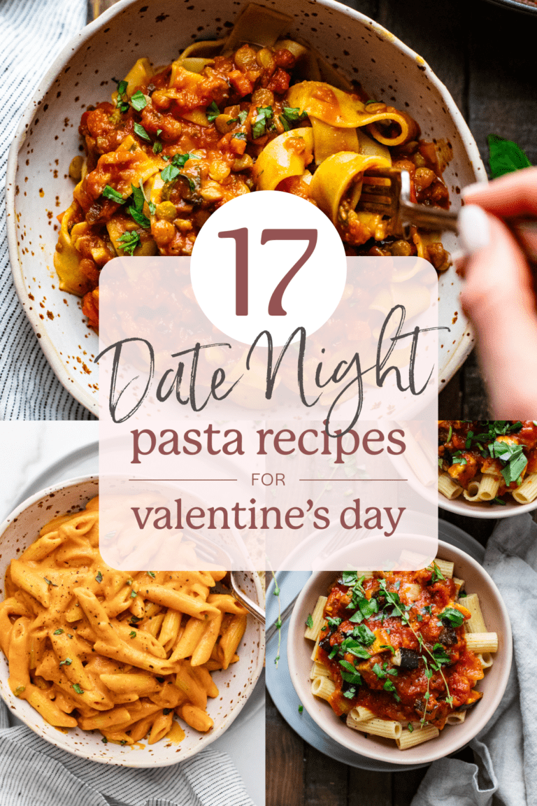 images of pasta dishes for date night.