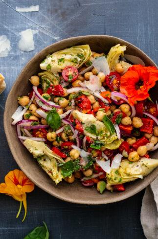 Tuscan Artichoke Salad